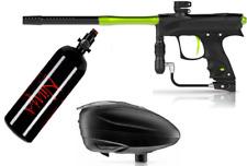 Dye Czr Rize Marker Setup Package Deal - Black/Lime