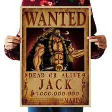 US SELLER- posters and prints JACK WANTED anime manga cosplay poster