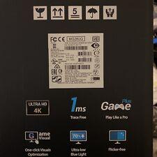 """ASUS MG28UQ Gaming Monitor 28"""" 3840x2160p 4K UHD 1ms DP HDMI TILT VESA Speakers"""
