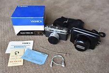 Yashica Electro 35>> 35mm Film Camera with original box and extras!!!!!