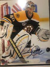 Tuukka Rask Boston Bruins Signed Autographed Action 8x10