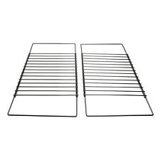 2 x Extendable Grill Oven Shelf Rack Screw Fix Arm Adjustable For CDA Cookers
