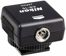Nikon AS-15 Sync Terminal Adapter Hot Shoe to PC AS15