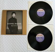 Lionel Richie Back To Front Hits Double LP Album Record MCT-6338