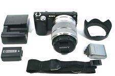 Sony Alpha NEX-5N 16.1MP Digital Camera - Black (Kit w/ 18-55mm Lens) and more!!