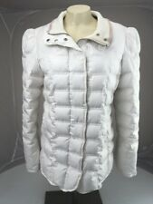 Juicy Couture White Puffer Down Jacket Size LARGE No Hood CUTE