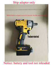 Makita 18V Li-ion battery to Dewalt 18V/20V power tool li-ion battery adapter