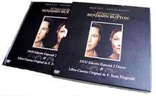 EL CURIOSO CASO DE BENJAMIN BUTTON (DVD BOOK) BRAD PITT - Nuevo y Precintado