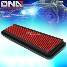 FOR 05-10 TACOMA/TUNDRA SR5 RED REPLACEMENT RACING FLOW DROP IN AIR FILTER