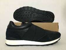 Reebok Classic Lux Slip Leather Casual Shoes Black SZ 12 [BS6557]