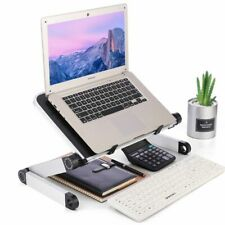 Standing Desk Portable Mobile Bed Sofa Laptop Adjustable Aluminum Ergonomic Tray