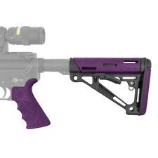 Hogue 15655 Rubber Purpler .223 Remington Pistol Grip & Butt Stock