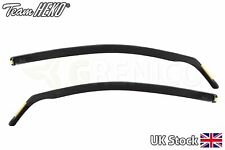 VW Polo 6R/6C 3door hatchback 2009-2017 wind deflectors 2pc HEKO TINTED