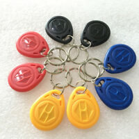RFID 125KHZ Rewritable Tags T5577 writable ID Tags Key Ring Duplicator 10PCS