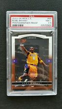 KOBE BRYANT 03-04 SKYBOX LE GOLD LIMITED EDITION PHOTOGRAPHER PROOF PSA 7.5 #/25
