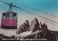 AURONZO DI CADORE: Funivia Monte Agudo - le tre cime di Lavaredo