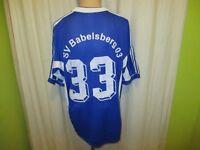"""SV Babelsberg 03 Adidas Matchworn Trikot 1999/00 """"LEG WOHNEN"""" + Nr.33 Gr.XL TOP"""