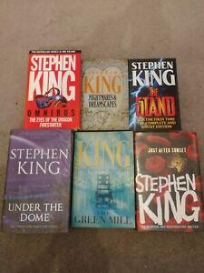 6 Stephen King Books