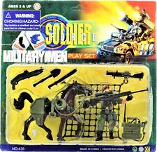 Soldier Force Military Men Play Set Series lll Action Figure Military Horse