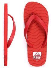 New Reef Men's Chipper Red Sandal Flip Flops US size 9