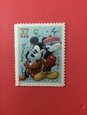 US Stamps Unused DIsney Mickey Mouse And Pluto Collect or Use as Postage