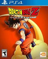 Dragon Ball Z: Kakarot -- Standard Edition (Sony PlayStation 4, 2020) PS4 NEW