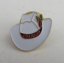 ENAMEL CALGARY COWBOY HAT PIN  (INV1078)