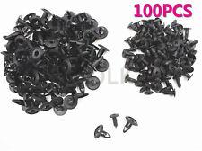 OEM NEW 100X PLASTIC FENDER FASTENER RIVET PUSH CLIPS FOR MAZDA NISSAN NA0156145