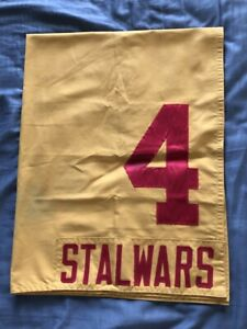 STALWARS VINTAGE RACE WORN SADDLE CLOTH