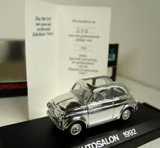 Vitesse 1/43 Scale Autosalon Fiat 500 1957 de Bijenkorf Chrome Diecast model car