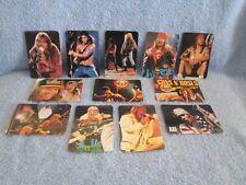 GUNS N' ROSES Calendar Cards Set; Mint Set of 12 Cards;  Music  Hard Rock Metal