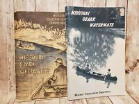Lot/2 Missouri Ozark Waterways Maps Highlands 1965 1972 Guide  Streams Canoes