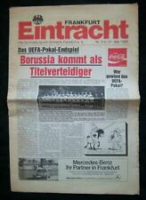 Orig.PRG UEFA Cup 1979/80  FINAL  EINTRACHT FRANKFURT - B.MÖNCHENGLADBACH ! RARE