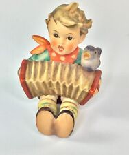 "Hummel German Figurine #110/0 ""Let's Sing"" Tmk-4 Boy with Accordion music Vintag"