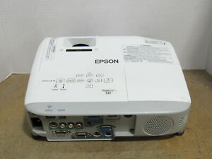 Epson PowerLite S17 3LCD SVGA Projector 2700 Lumens 1805 Lamp Hours w/ No Remote