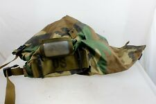 Military Issue Protective Carrying Bag Ensemble Utility Bag Woodland Camouflage