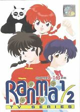 DVD Ranma 1/2 Tv Series Chapter 1 - 161 End English Dubbed And Subtitles