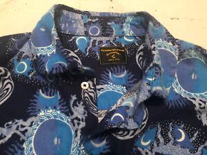 "Vintage V. Westwood Anglomania Brush Cotton Mens Shirt 42""chest"