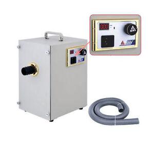 370W Dental Lab Vacuum Cleaner Artificer Room Digital Dust Collector JT-26C