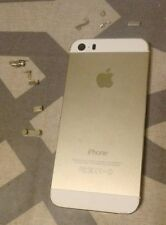 Apple  iPhone 5S White Gold Genuine Back Rear Housing Power Volume Buttons OEM