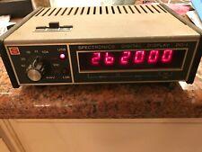 Spectronics Dd-1 Digital Display - For the Yaesu Ft-101 Series - working