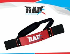 RAD New Arm Blaster Body Building Bomber Bicep Curl Triceps Muscle Builder Red
