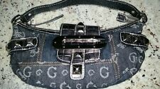 GUESS denim shoulder bag. Great small purse! Excellent Condition - Stylish, cool