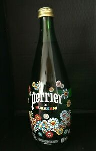 Perrier X Takashi Murakami Bottle Bouteille en verre Collector