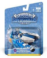 NIB Power Blue Autism Speaks Splatter Splasher Vehicle Skylanders SuperChargers