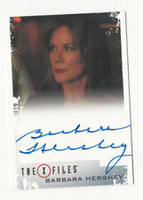 Barbara Hershey as Erika Price The X Files Season 10 & 11 Autograph Card Auto