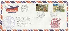 POSTAGE DUE Mauritius SG#D18 Port Louis 9/OC/05 Airmail from Treharris