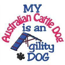 My Australian Cattle Dog is An Agility Dog Short-Sleeved Tee - DC1728L