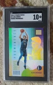 Luka Doncic RC SP -- 2018 Status ROOKIE PROMINENCE #3 -- SGC 10 GEM MINT