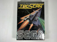 NEW NOS RARE ATARI 2600 TAC-SCAN GAME IN FACTORY SEALED & S/W BOX 7800 BY SEGA